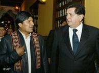 Evo Morales no pierde la esperanza de que García haga las paces con Chávez.