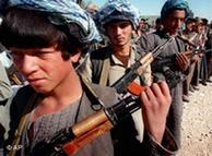 Milicianos afganos.