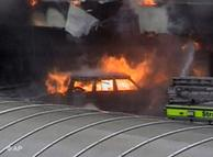 Explosión de un vehículo a la entrada del aeropuerto de Glasgow.